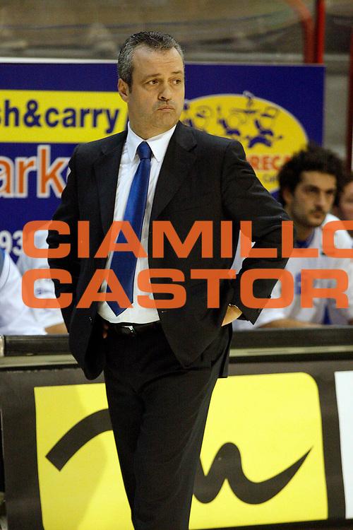 DESCRIZIONE : Pistoia Lega A2 2008-09 Carmatic Pistoia Enel Brindisi<br /> GIOCATORE : Coach Perdichizzi Giovanni<br /> SQUADRA : Enel Brindisi<br /> EVENTO : Campionato Lega A2 2008-2009<br /> GARA : Carmatic Pistoia Enel Brindisi<br /> DATA : 02/11/2008<br /> CATEGORIA : <br /> SPORT : Pallacanestro<br /> AUTORE : Agenzia Ciamillo-Castoria/Stefano D'Errico