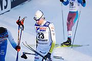 LAHTIS, FINLAND - 5 MARS: Johan Olsson under herrarnas 50 km mass start under FIS Nordic World Ski Championships den 5 mars , 2017 i Lahti, Finland. <br /> Foto: Nils Petter Nilsson/Ombrello<br /> ***BETALBILD***