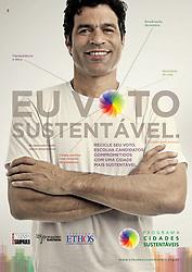 Campanha: Eu Voto Sustent&aacute;vel / Programa Cidades Sustent&aacute;veis<br /> Luz: Gustavo Louren&ccedil;&atilde;o <br /> Cabelo/make: Atila Temporim (Ag&ecirc;ncia First) <br /> Ag&ecirc;ncia: DPZ
