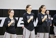 November 14, 2017: The University of Central Oklahoma Bronchos play against the Oklahoma Christian University Lady Eagles in the Eagles Nest on the campus of Oklahoma Christian University.