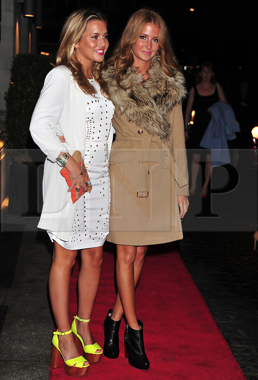 © Licensed to London News Pictures. 18/01/2012. London, England.Caggie Dunlop, Millie Mackintosh attends the Daily Mail Inspirational Women awards 2012 at the Marriot Grosvenor Hotel London  Photo credit : ALAN ROXBOROUGH/LNP