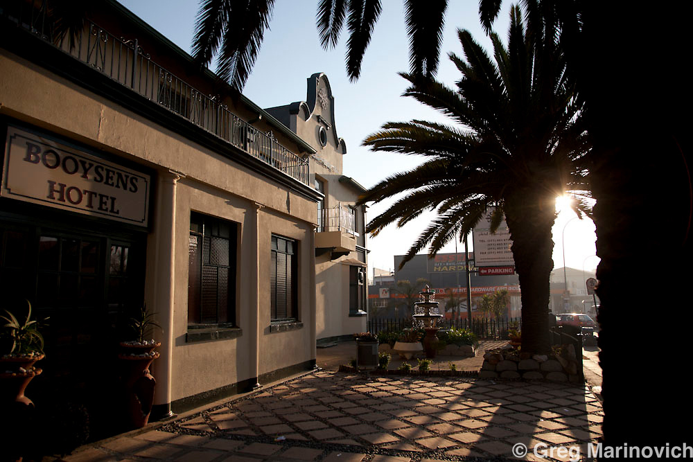 The Booysens Hotel in Booysens, an original hotel from the gold mining heyday of Johannesburg. 18 Aug 2010. Photo Greg Marinovich