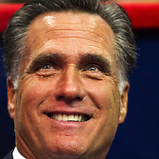 Aug. 28, 2012 - Tampa, Florida, United States - MITT ROMNEY, Day 2 of the Republican National Convention at the Tampa Bay Times Forum in Tampa Fla. on Aug. 28, 2012.