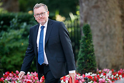 © Licensed to London News Pictures. 04/07/2017. London, UK. Scottish Secretary DAVID MUNDELL attends a cabinet meeting in Downing Street, London on Tuesday, 4 July 2017.Photo credit: Tolga Akmen/LNP