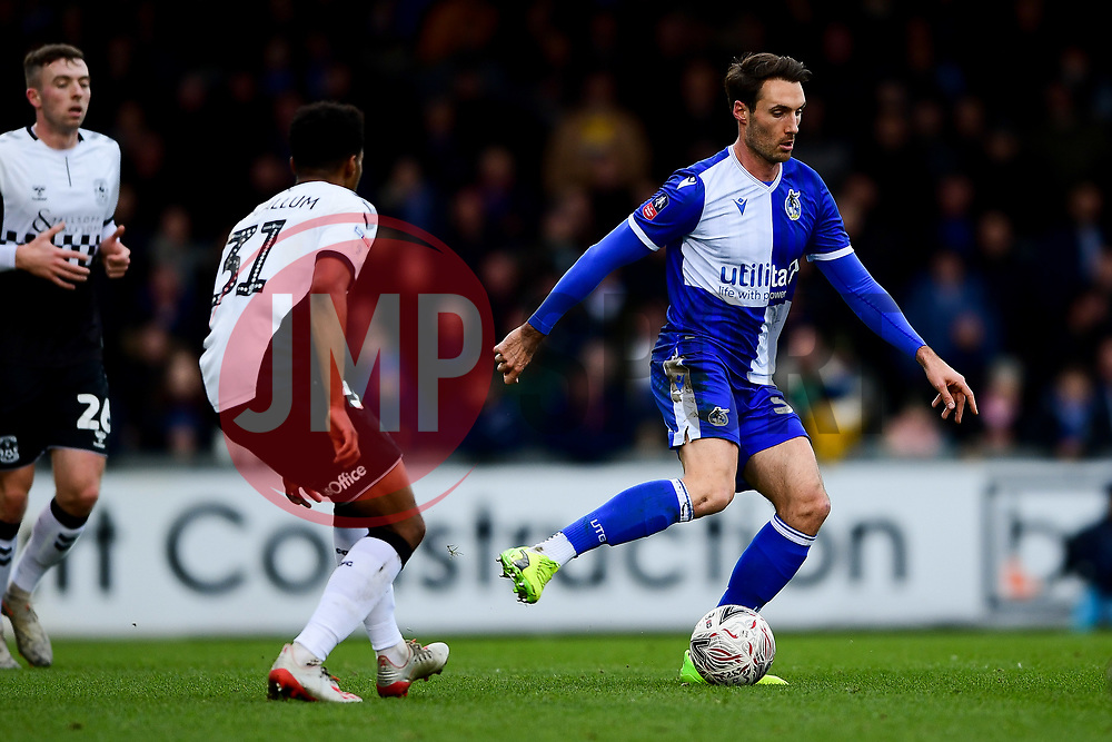 Alex Rodman of Bristol Rovers is marked by Sam McCallum of Coventry City - Mandatory by-line: Ryan Hiscott/JMP - 05/01/2020 - FOOTBALL - Memorial Stadium - Bristol, England - Bristol Rovers v Coventry City - Emirates FA Cup third round