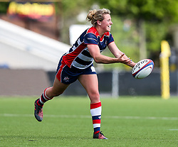 Amber Reed (capt) of Bristol Ladies - Rogan Thomson/JMP - 23/04/2017 - RUGBY UNION - Sixways Stadium - Worcester, England - Bristol Ladies Rugby v Aylesford Bulls - Women's Premiership Final.