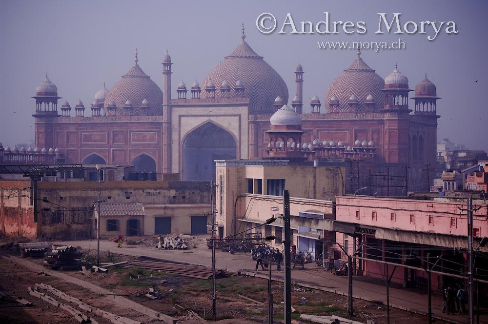Old Train Station, Agra, Uttar Pradesh, India Image by Andres Morya