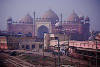 Old Train Station, Agra, Uttar Pradesh, India Image by Andres Morya