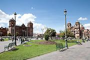 Plaza De Armas in Cuscu, Peru