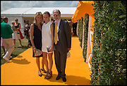 Viscountess Cowdray, Emily Pearson, Viscount Cowdray, 2004 Veuve Clicquot Gold Cup Final at Cowdray Park Polo Club, Midhurst. 20 July 2014