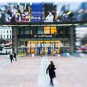 Stockshots of the European Parliament