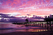 Purple Sky over San Clemente Pier