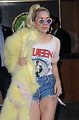 Lady Gaga leaves Apartment