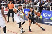 Diego Flaccadori<br /> Dolomiti Energia Trentino - Virtus Segafredo Bologna<br /> Lega Basket Serie A 2017/2018<br /> Trento, 30/09/2017<br /> Foto M.Ceretti / Ciamillo - Castoria