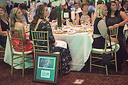 Ellen Herman sits at her table after she was inducted into the Kermit Blosser Ohio Athletics Hall of Fame during the 2016 Alumni Awards Gala at Ohio University's Baker Center Ballroom on Friday, October 07, 2016.
