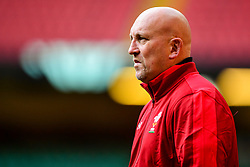 Shaun Edwards takes part in the training session - Photo mandatory by-line: Ryan Hiscott/JMP - 29/10/2018 - RUGBY - Principality Stadium - Cardiff, Wales - Autumn Series - Wales Rugby Open Training Session