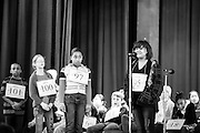 Diana, attempts to spell the word given to her in Round 2 of the Memphis-Shelby County Spelling Bee. Unfortunately she struck out with this one, and was eliminated from the competition. Good job though, Diana!