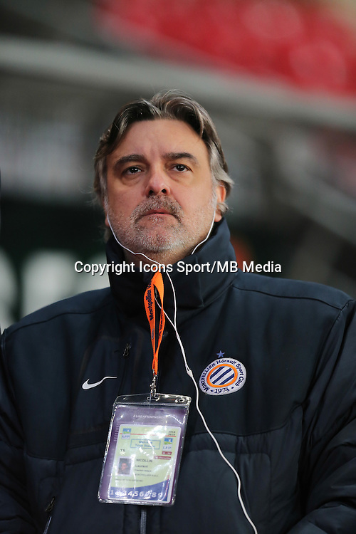 Laurent NICOLLIN - 06.12.2014 - Rennes / Montpellier - 17eme journee de Ligue 1 -<br />
