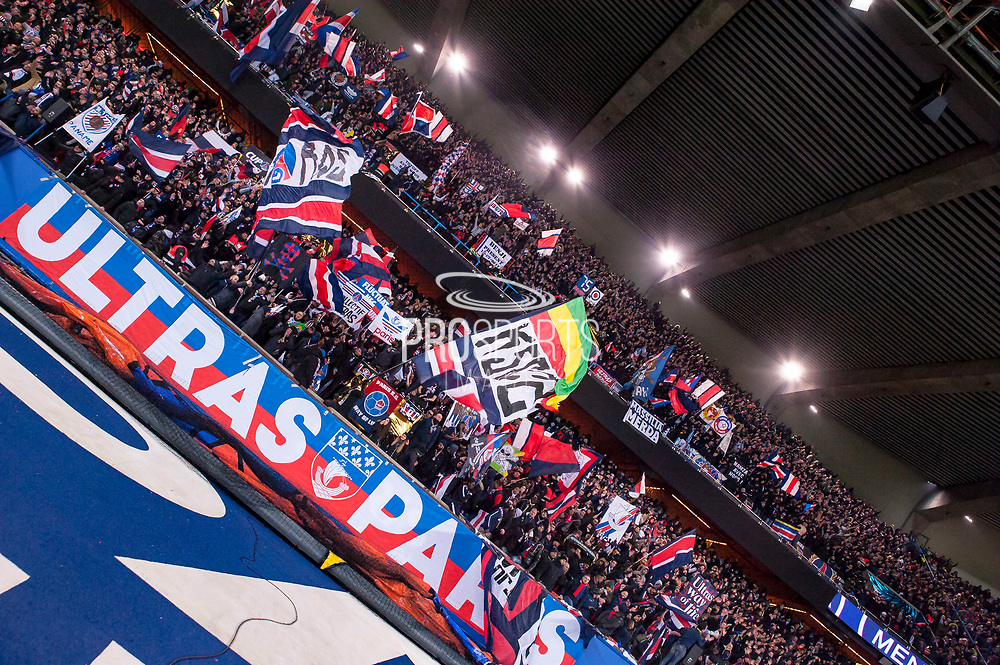 Ambiance during the French Championship Ligue 1 football match between Paris Saint-Germain and Olympique de Marseille on february 25, 2018 at Parc des Princes stadium in Paris, France - Photo Pierre Charlier / ProSportsImages / DPPI