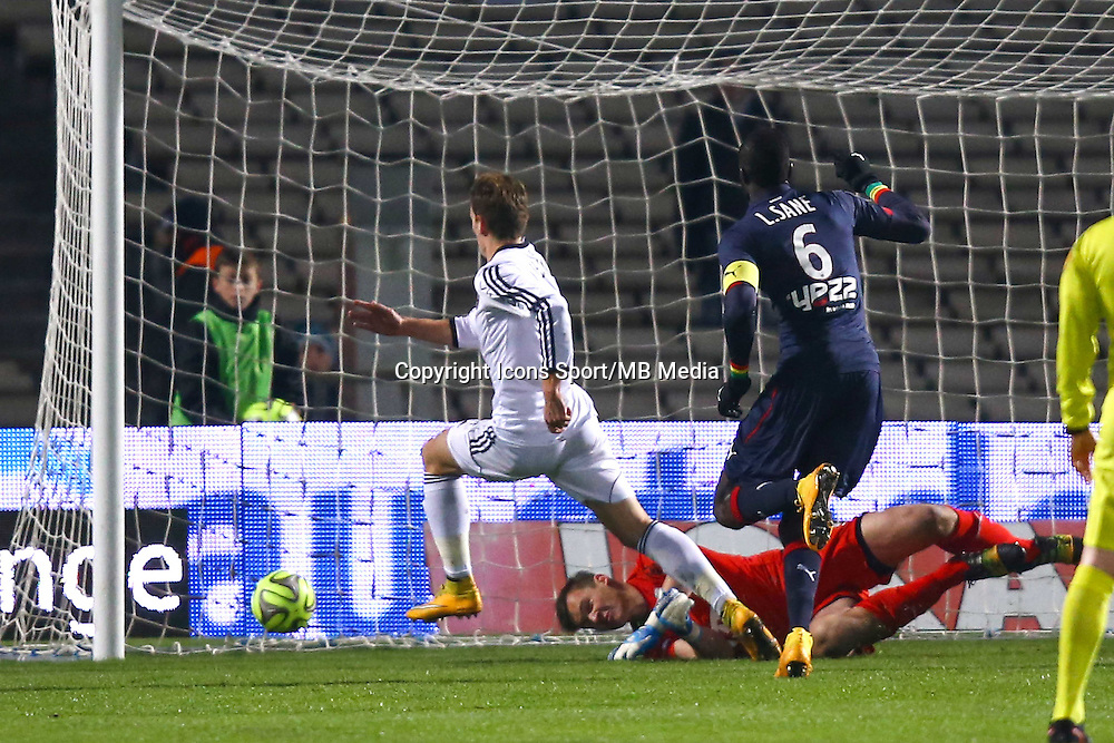 Goal Benjamin Jeannot - 06.12.2014 - Bordeaux / Lorient - 17eme journee de Ligue 1 -<br />