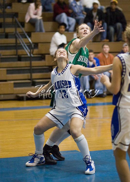 MCHS Varsity Girls Basketball.vs Greene.December 8, 2005