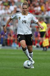 26-06-2011 VOETBAL: FIFA WOMENS WORLDCUP 2011 GERMANY - CANADA: BERLIN<br /> Kim Kulig (GER #14, Hamburg)<br /> ***NETHERLANDS ONLY***<br /> ©2011-FRH- NPH/Kokenge