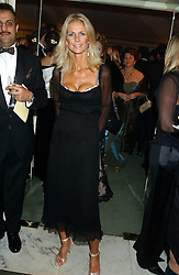 Centre, ULRIKA JONSSON at the Chain of Hope 10th Anniversary Ball held at The Dorchester, Park Lane, London on 1st November 2005.<br />