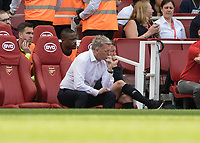 Football - 2017 / 2018 Premier League - Arsenal vs. West Ham United<br /> <br /> A disappointed David Moyes, Manager of West Ham United, at The Emirates.<br /> <br /> COLORSPORT/DANIEL BEARHAM