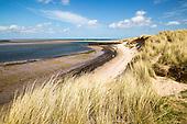 Northumberland coast, England