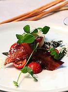 SLUG: Readers Choice-Best New Restaurant and Best Italian-Critics-ll Sogno-May 6, 2010---An Asparagi E Vova Al Tartufo salad from IISogna.    Photo by Robin Jerstad