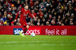 Adam Lallana of Liverpool - Mandatory by-line: Robbie Stephenson/JMP - 30/10/2019 - FOOTBALL - Anfield - Liverpool, England - Liverpool v Arsenal - Carabao Cup
