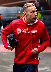 Andreas Weimann of Bristol City arrives at the City Ground for the Sky Bet Championship fixture against Nottingham Forest - Mandatory by-line: Robbie Stephenson/JMP - 19/01/2019 - FOOTBALL - The City Ground - Nottingham, England - Nottingham Forest v Bristol City - Sky Bet Championship