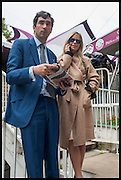 WILLIAM VESTEY; VIOLET VESTEY, Qatar Prix de L'Arc de Triomph. Longchamp. Paris. 5 October 2014.