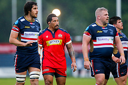 Bristol Rugby Prop Anthony Perenise - Mandatory byline: Rogan Thomson/JMP - 18/05/2016 - RUGBY UNION - Castle Park - Doncaster, England - Doncaster Knights v Bristol Rugby - Greene King IPA Championship Play Off FINAL 1st Leg.