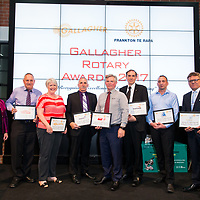 Gallagher Rotary Awards, 21 Nov 2017