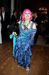 ZANDRA RHODES at the Royal Academy of Art's Summer Ball held at Burlington House, Piccadilly, London on 16th June 2008.<br />