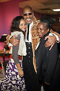 l to r: Sade Lythcott, Avery Brooks, and Shirely Faison at the Dr. Barbara Ann Teer's Institute of Action Arts launch for the 41st  Communication Arts Program Symposium held at The National Black Theater in Harlem, NY on March 27, 2009