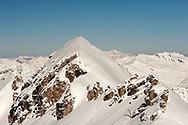 Gastein, Austria. Early morning view from the summit of Kreuzkogel (2686m), above Sportgastein, in February © Rudolf Abraham