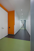 Architectural Interior image of Virginia DC-6 Data Center by Jeffrey Sauers of Commercialphoto.com