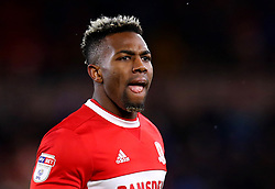 Adama Traore of Middlesbrough - Mandatory by-line: Robbie Stephenson/JMP - 02/03/2018 - FOOTBALL - Riverside Stadium - Middlesbrough, England - Middlesbrough v Leeds United - Sky Bet Championship
