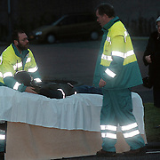 Ongeval Gemeenlandslaan Huizen, fietser aangereden