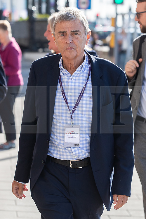 © Licensed to London News Pictures . 21/09/2019. Brighton, UK. DAVE PRENTIS arrives at the Hilton Brighton Metropole ahead of a meeting of the Labour Party NEC inside . The 2019 Labour Party Conference from the Brighton Centre . Photo credit: Joel Goodman/LNP