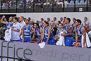 RIMINI 12 AGOSTO 2011<br /> BASKET FIP<br /> TROFEO INTERNAZIONALE TASSONI CITTA DI RIMINI<br /> ITALIA BOSNIA<br /> NELLA FOTO TEAM<br /> FOTO CIAMILLO