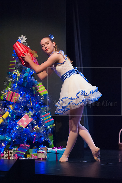 Wellington, NZ. 6.12.2015.  Clara, from the Wellington Dance & Performing Arts Academy end of year stage-show 2015. Little Show, Sunday 10.15am. Photo credit: Stephen A'Court.  COPYRIGHT ©Stephen A'Court