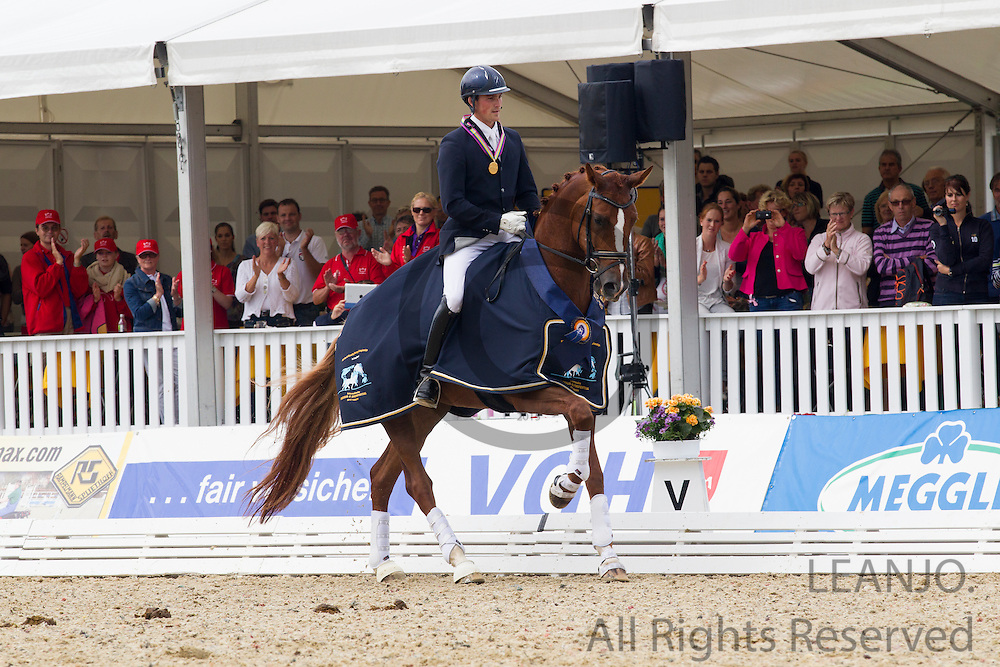 Michael George Eilberg - Woodlander Farouche<br /> FEI World Breeding Dressage Championships for Young Horses 2012<br /> © DigiShots