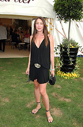 TAMARA MELLON at the 2004 Cartier International polo day at Guards Polo Club, Windsor Great Park, Berkshire on 25th July 2004.