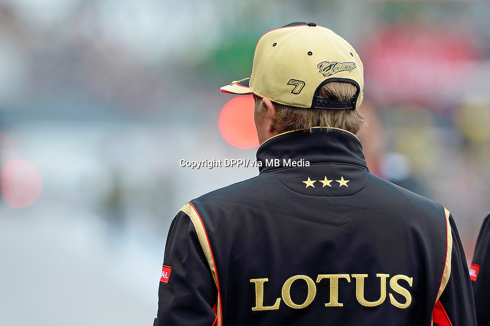 MOTORSPORT - F1 2013 - GRAND PRIX OF CANADA - MONTREAL (CAN) - 07 TO 09/06/2013 - PHOTO ERIC VARGIOLU / DPPI RAIKKONEN KIMI (FIN) - LOTUS E21 RENAULT- AMBIANCE PORTRAIT