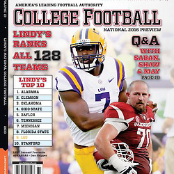Leonard Fournette Lindy's College Football Preview 2016 Magazine Cover