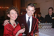 Helen Adams and Richard Shelton. Kensington and Chelsea LEPRA Committee Ball. Savoy. 21 April 2005. ONE TIME USE ONLY - DO NOT ARCHIVE  © Copyright Photograph by Dafydd Jones 66 Stockwell Park Rd. London SW9 0DA Tel 020 7733 0108 www.dafjones.com