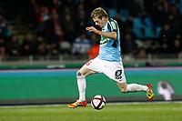 FOOTBALL - FRENCH CHAMPIONSHIP 2011/2012 - L1 - LILLE OSC v STADE BRESTOIS  - 26/11/2011 - CHRISTOPHE ELISE / DPPI - NOLAN ROUX (STADE BRESTOIS)